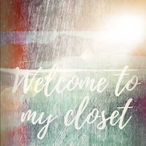 Welcome to my bohemian western ruffled closet!